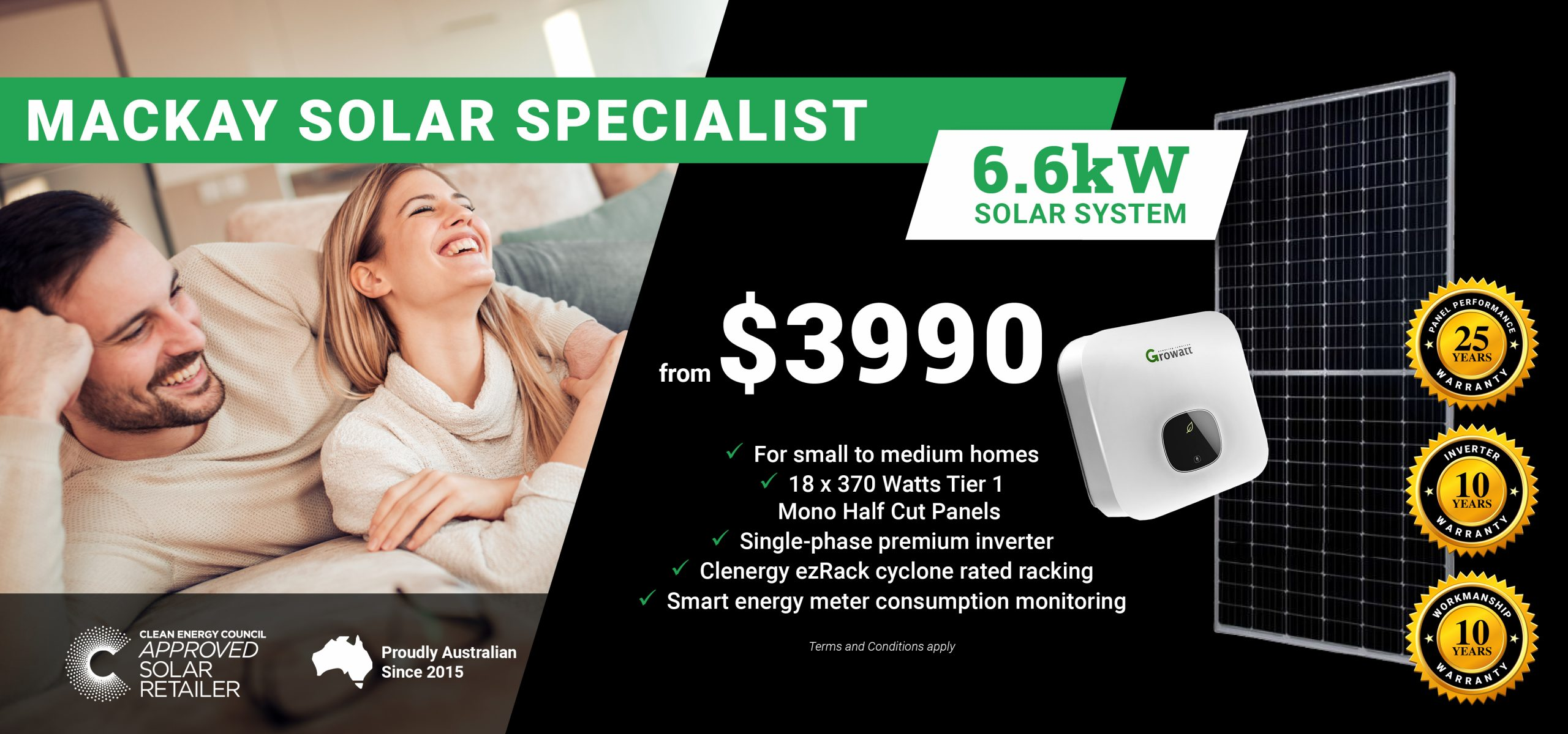 GreenCell Banners DT - Mackay6.6